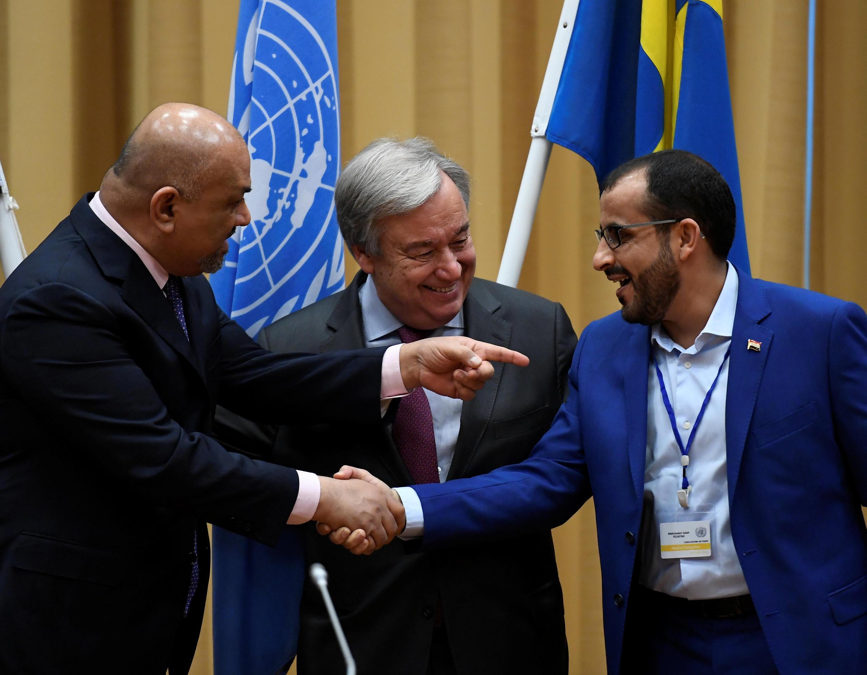 مذاکرات صلح یمن در سوئد