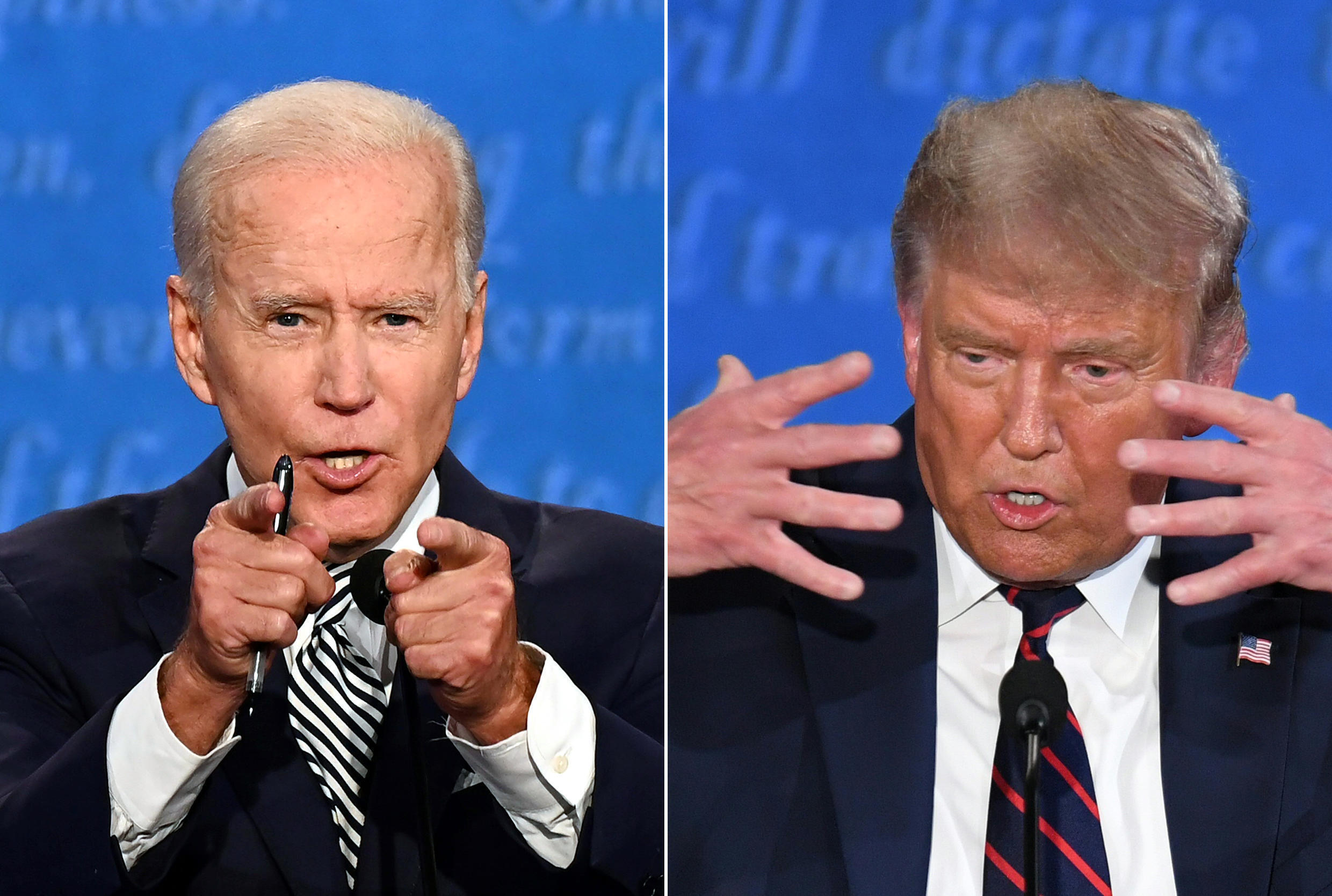 Cleveland's clash saw Donald Trump and Joe Biden repeatedly interrupting and insulting each other