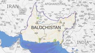 ایالت بلوچستان پاکستان با افغانستان و ایران مرز مشترک دارد.
