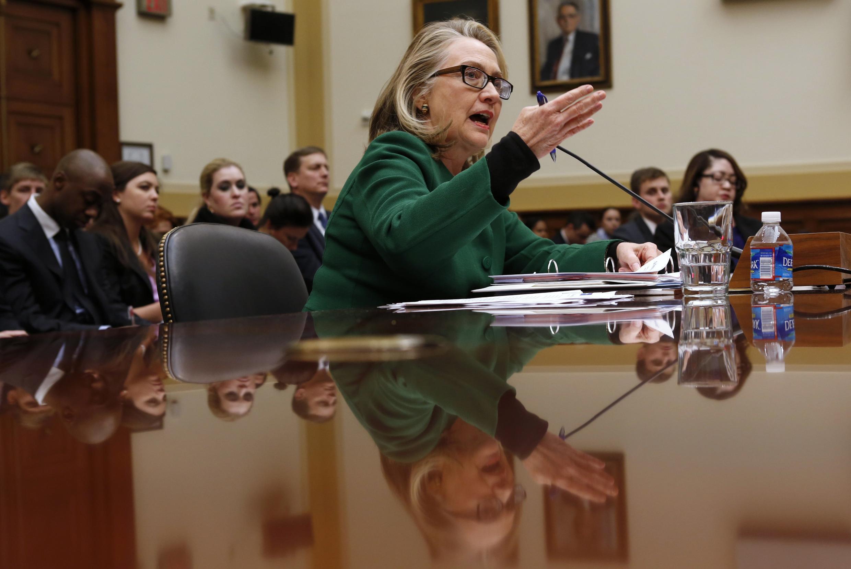 Auditionnée en janvier 2013 sur l'attaque du consulat de Benghazi, Hillary Clinton n'avait pas été ménagée par les membres du Congrès.
