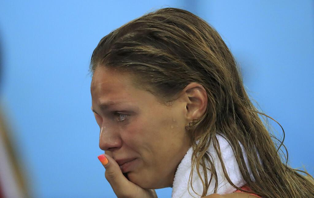 Muogeleaji wa Urusi, Yulia Efimova ambaye alifungiwa kwa zaidi ya mara mbili lakini ameshiriki michezo ya Olimpiki ya Rio, 2016