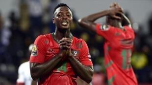 """""""Djurtus"""" o Nacional de futebol da Guiné Bissau, ganham a Namíbia, por 1/0, na corrida para CAN 2019"""
