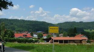 L'entrée de la ville de Wildpoldsried en Allemagne.