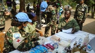 MONUSCO Nepalese Battalion conducted a medical campaign in the village of Mataba, Mulekera commune, Beni territory, North Kivu.