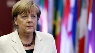 Angela Merkel, le 10 juin 2015 à Bruxelles.
