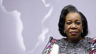 Catherine Samba-Panza, ici lors du sommet UE-Afrique à Bruxelles le 3 avril 2014.