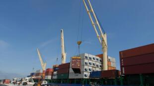 Le port de Guayaquil, en Equateur.