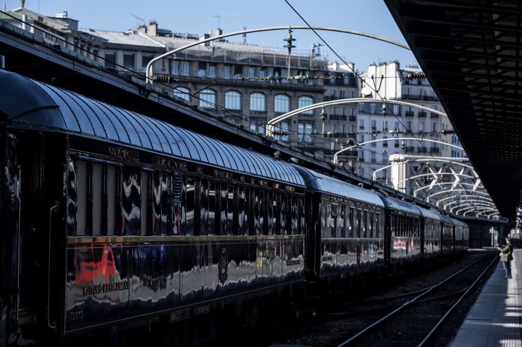 Поезд «Восточный экспресс» 15 мая 2019 в Париже на Восточном вокзале