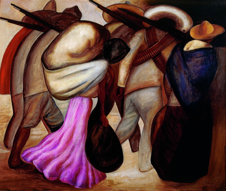 'Mujeres de soldados', de José Clemente Orozco.