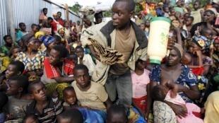 Des réfugiés burundais à Kagunga, sur le lac Tanganyika, côté tanzanien.