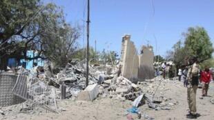 索馬里首都市府遭汽車炸彈攻擊 至少6死   2018年9月2日