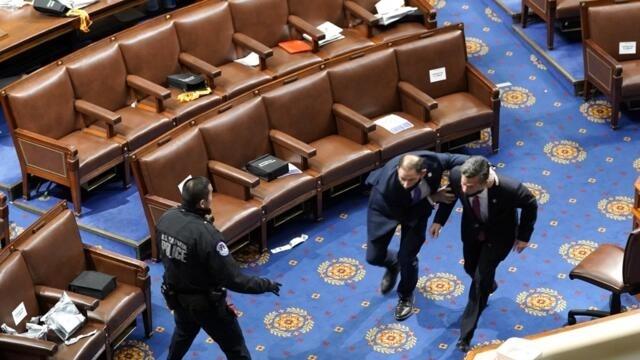 拜登:参议院的审判可能已经改变了美国人对特朗普的看法(photo:RFI)
