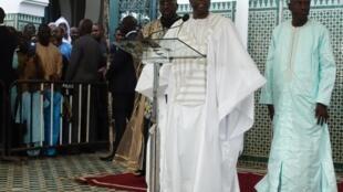 C'est à la fin de la prière de la Korité que Macky Sall, le président sénégalais, a évoqué les questions de gaz et de pétrole, le 5 juin 2019.