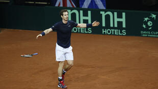 Britain's top player Andy Murray clinched the Davis Cup after overcoming his Belgian counterpart David Goffin in straight sets at the Flanders Expo.