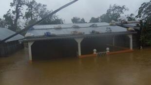 A Antalaha 53 000 sinistrés sont sinistrées, Le cyclone a balayé le nord-est de l'île pendant près de 8 heures.