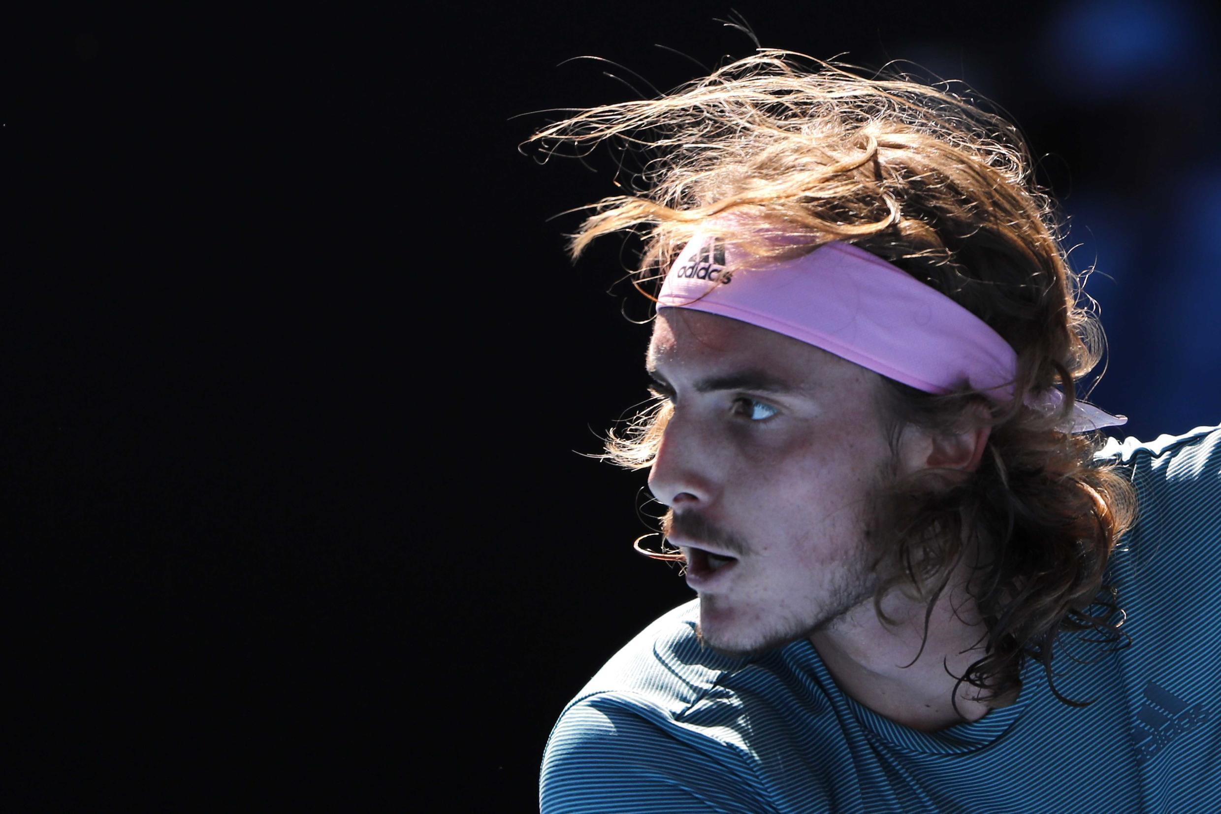 Stefanos Tsitsipas reached a Grand Slam tournament semi-final for the first time after his win over Roberto Bautista Agut at the Australian Open.