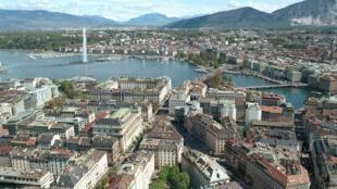Vue générale de la ville de Genève. La Suisse est un des États qui protègent le secret bancaire. (Image d'illustration)