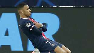 Kylian Mbappé scored the goal that gave Paris Saint-Germain a 5-1 aggregate lead over Barcelona in their last-16 tie in the Champions League.