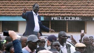 Raila Odinga, candidat malheureux à la présidentielle au Kenya, a appelé à la grève générale ce lundi.