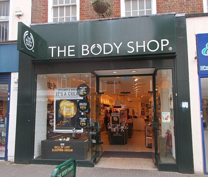 A Body Shop in Sutton High Street, London