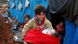 وضع اسفبار زندگی آوارگان جنگی در سوریه