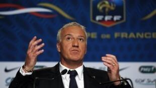 O tecnico Didier Deschamps, revelou nesta quarta-feira, a lista dos jogadores para a Copa no Brasil.