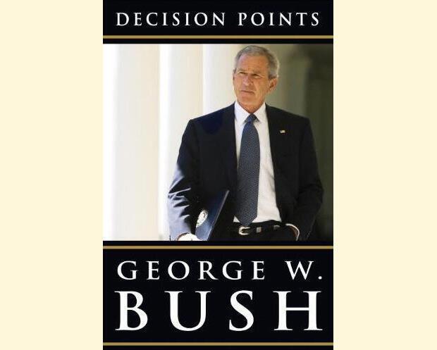 O ex-presidente George Bush publica hoje seu livro de memórias.