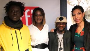 Bocar Niang, Diara Ndiaye, Hervé Htb Kollekchön, Claire Diao.