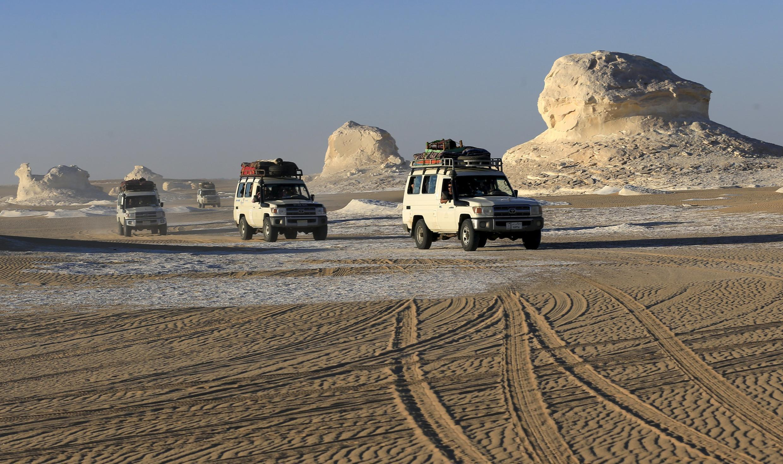 Sa mạc Ai Cập rất được du khách ưa thích.