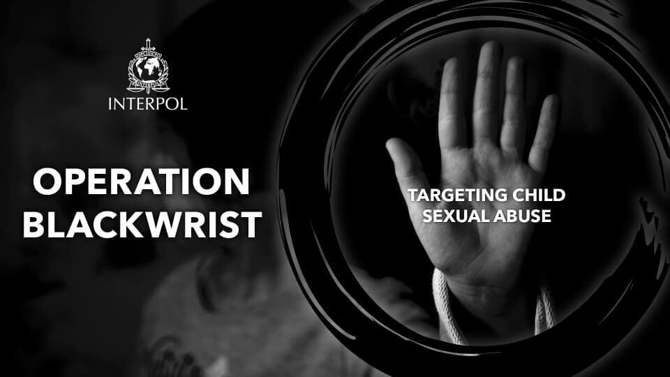A Interpol anunciou nesta quinta-feira ter desmantelado uma rede internacional de pedófilos que atuava na darkweb.
