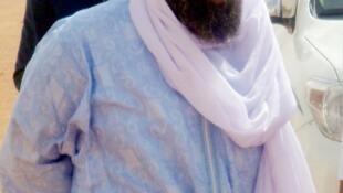 Iyad Ag Ghali, leader d'Ansar Dine, le 7 août 2012.