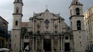 Nhà thờ San Cristobal ở thủ đô La Habana, Cuba