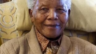 Uma das últimas fotos de Mandela antes de seu estado de saúde piorar, em 2012.
