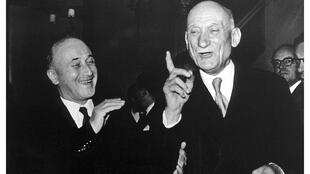 Jean Monnet _ Robert Schuman - Copyright European Union 2021 - Carrefour de l'Europe