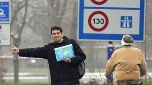PM français Édouard Philippe défend la mesure de baisser à 80km/h la vitesse maximale sur les routes secondaires. le 16.03.2018 Sarthe