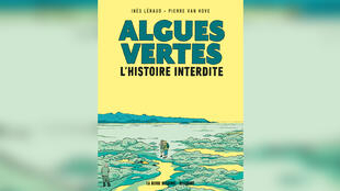 Couverture de la bande dessinée «Les Algues vertes», d'Inès Léraud et Pierre Van Hove.