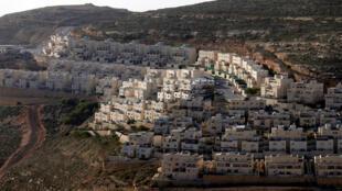 外約旦佔領區一處猶太移民點