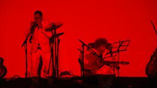 Robert Combas et Lucas Mancione forment le duo «Les sans pattes».
