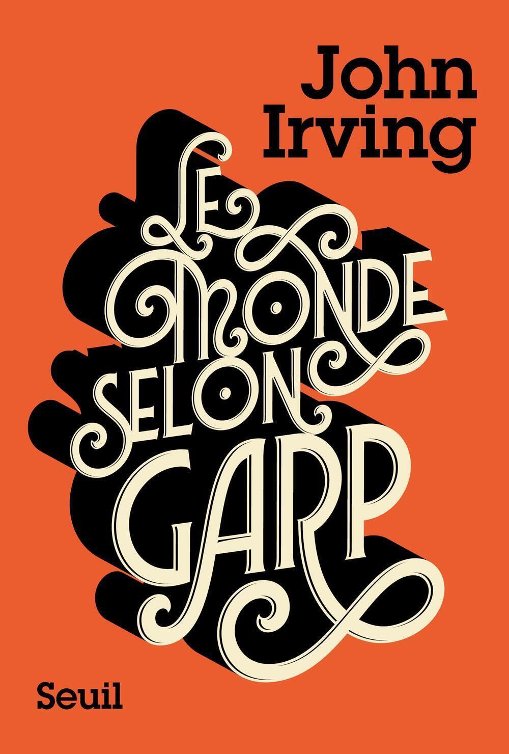 La couverture du livre de John Irving « Le Monde selon Garp ».