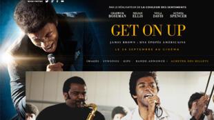 L'Affiche du film « Get on up » : James Brown réincarné