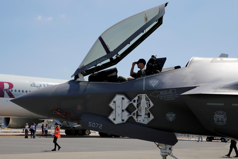 Le Pentagone présentera son chasseur bombardier furtif F-35 au salon du Bourget.