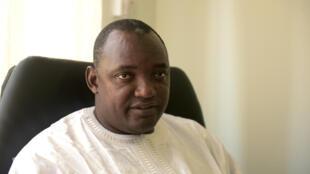 Adama Barrow Presidente eleito da Gâmbia