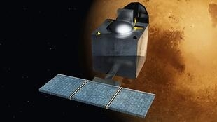 Bản vẽ minh họa vệ tinh thăm dò quỹ đạo Sao Hỏa - Mangalyaan - wikipedia.org