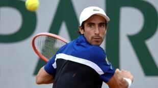 Pablo Cuevas, à Roland Garros, le 26 mai 2016.