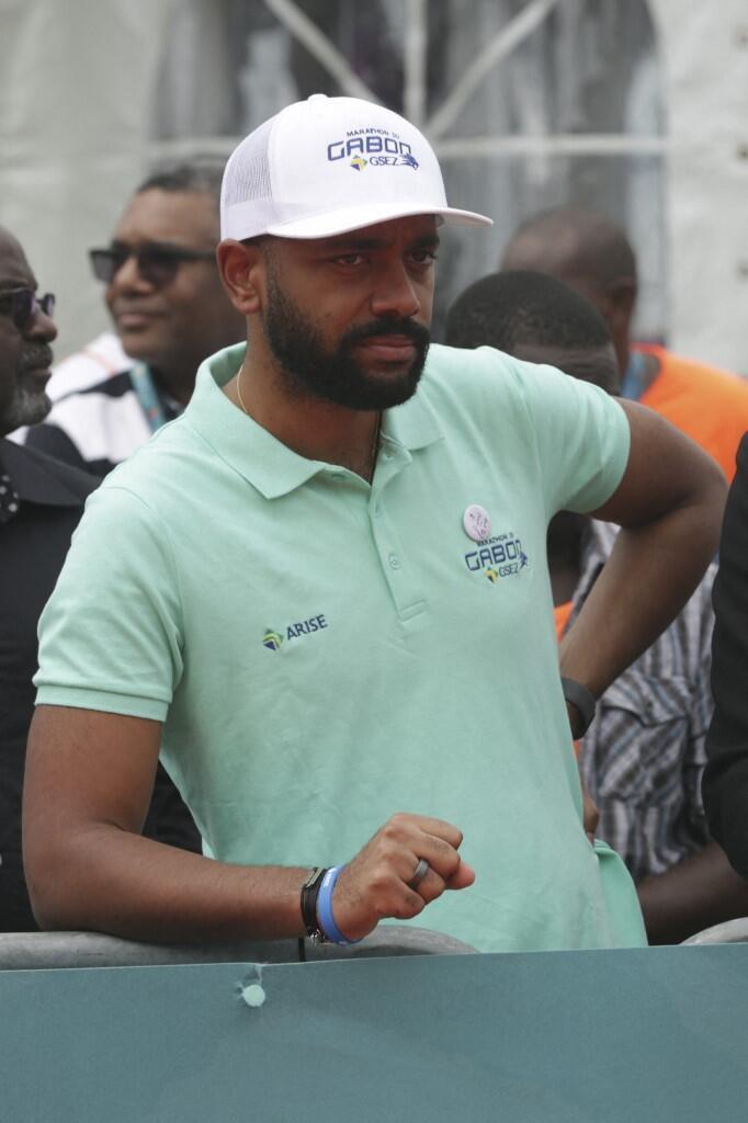 Le fils du président gabonais Ali Bongo, Noureddin Bongo Valentin, en décembre 2019 à LIbreville.