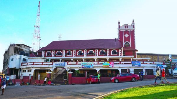Une église méthodiste à Kumasi, au Ghana. Les églises sont les cibles privilégiées des attaques terroristes au Ghana.