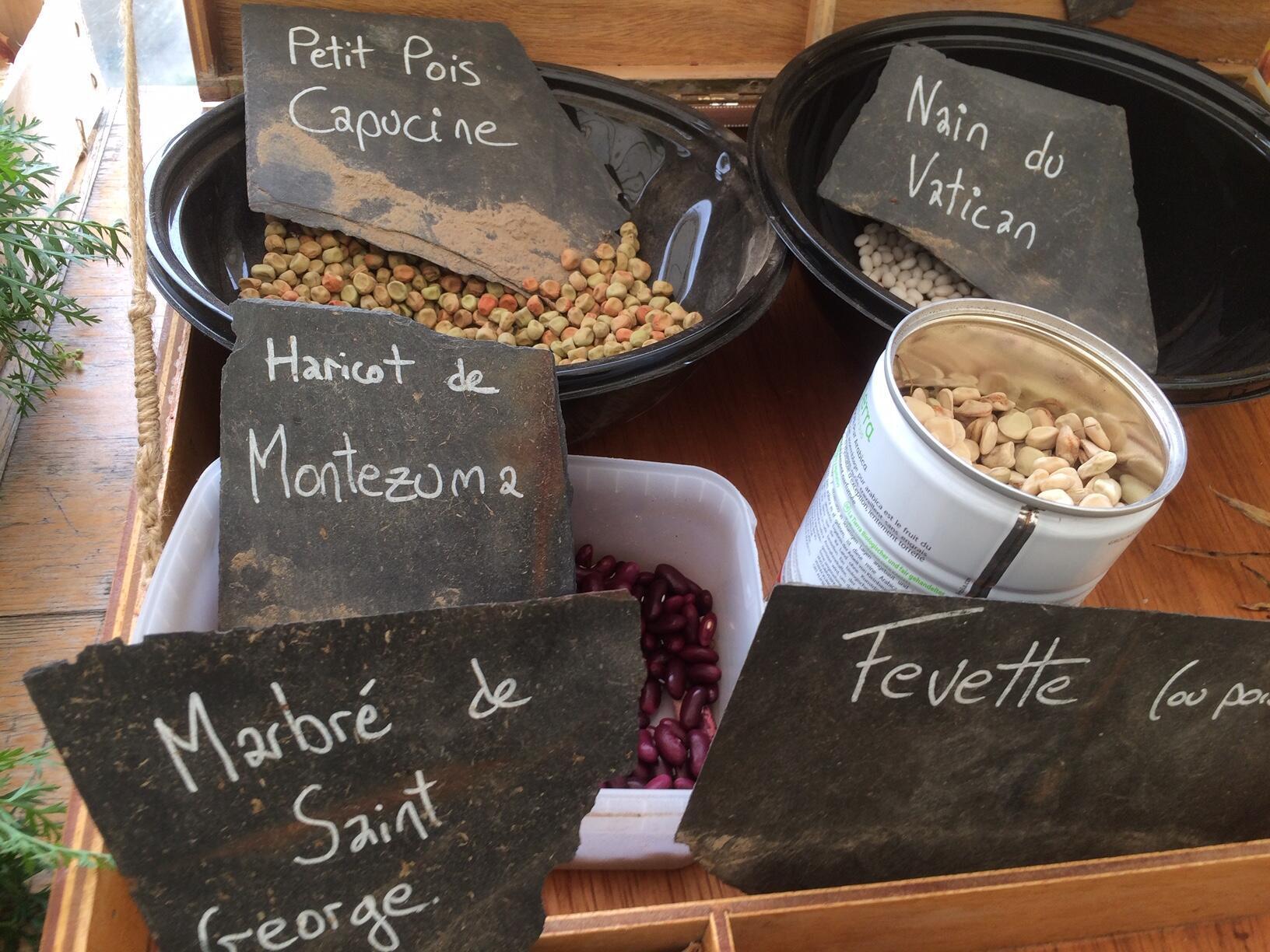 Semences paysannes produites artisanalement par des agriculteurs bretons.