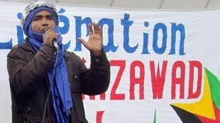Moussa ag Assarid, le représentant du Mouvement national de libération de l'Azawad (MNLA) en Europe.