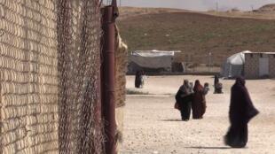 Dans le camp Roj, au Kurdistan syrien, sont rassemblées des familles de jihadistes. (Illustration)