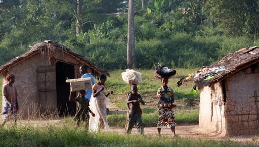 Des réfugiés ivoiriens au Liberia.